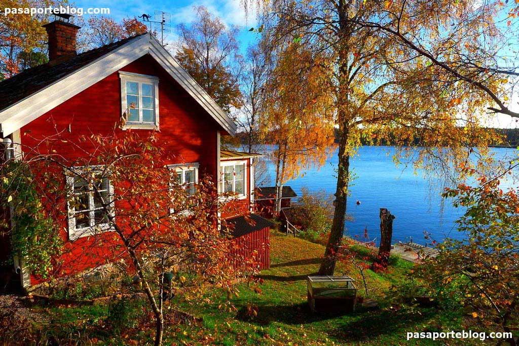 casa roja estocolmo