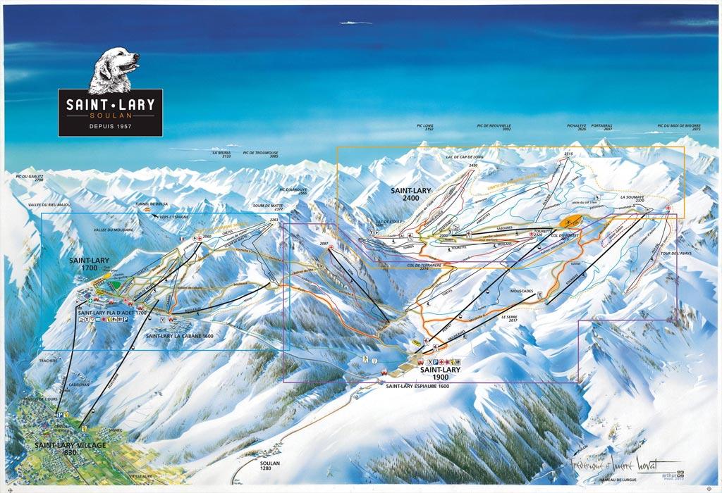 plano pistas saint lary