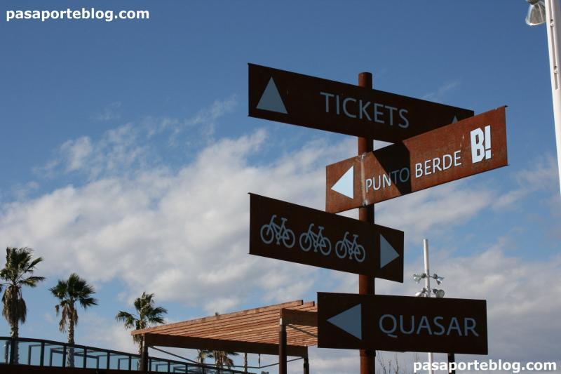 Entrada zoo de Valencia - Bioparc