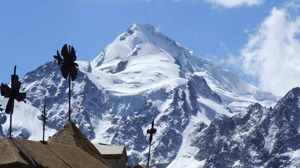 pico de 6000 metros huayna potosi