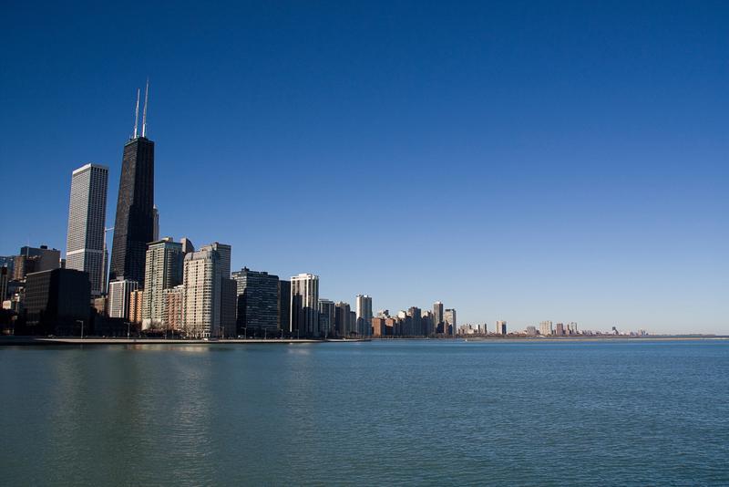 Lago Michigan (Viaje a EEUU), el más urbanita. Los 10 lagos más espectaculares del mundo