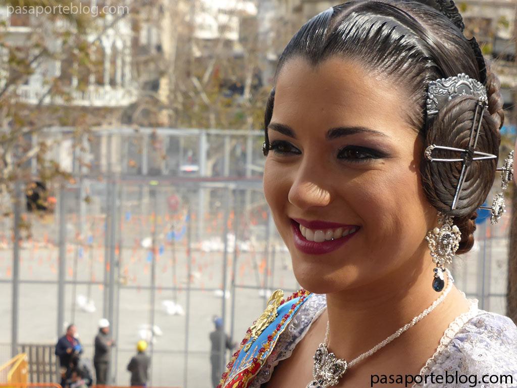 Estefania Lopez la fallera mayor de Valencia 2015