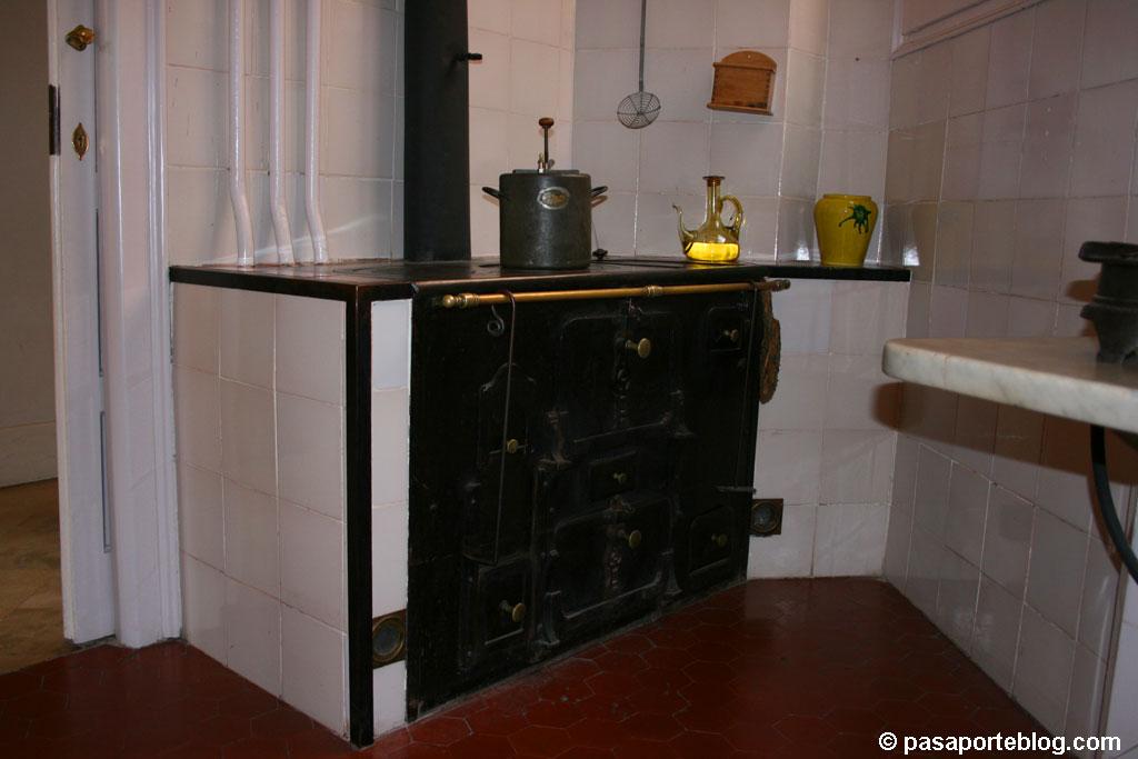 La cocina de la Pedrera, principios del siglo pasado