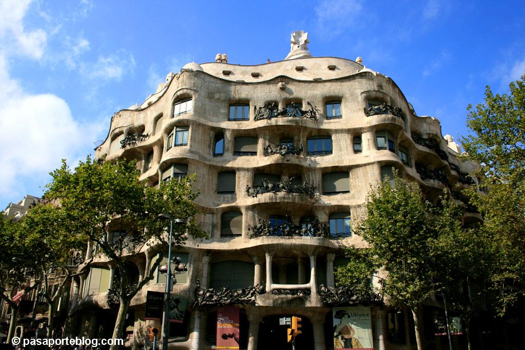 La PEdrera Gaudi un arquitecto en Barcelona