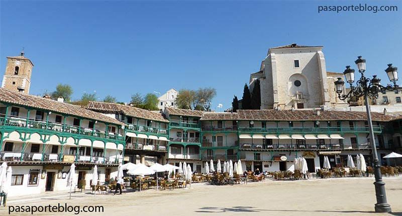 Chinchon, pueblo de Madrid, Spain