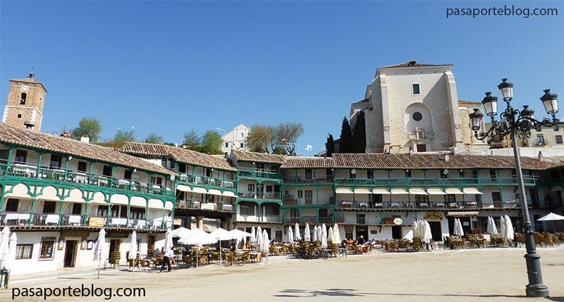 Chinchon, pueblo de Madrid, Spain