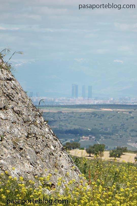 rascacielos de madrid vistos desde chinchon