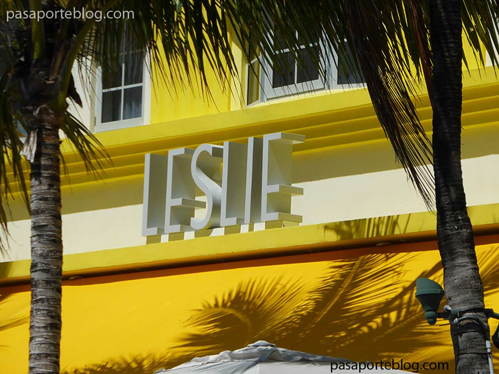 art deco color amarillo pastel miami beach