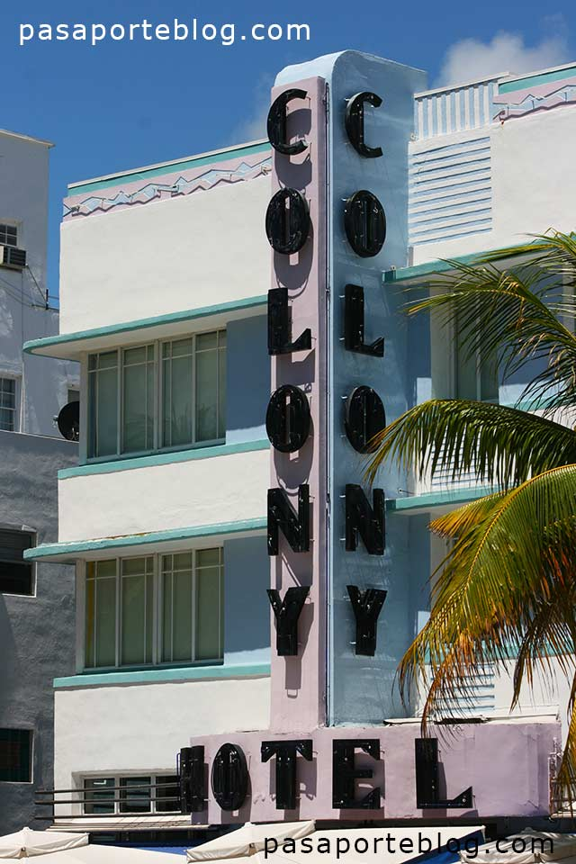 Colony hotel miami art deco district travelblog