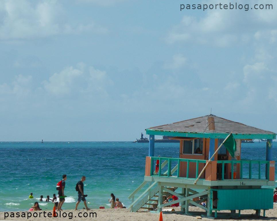 viaje a miami la-playa-de-south-beach-en-miami-beach