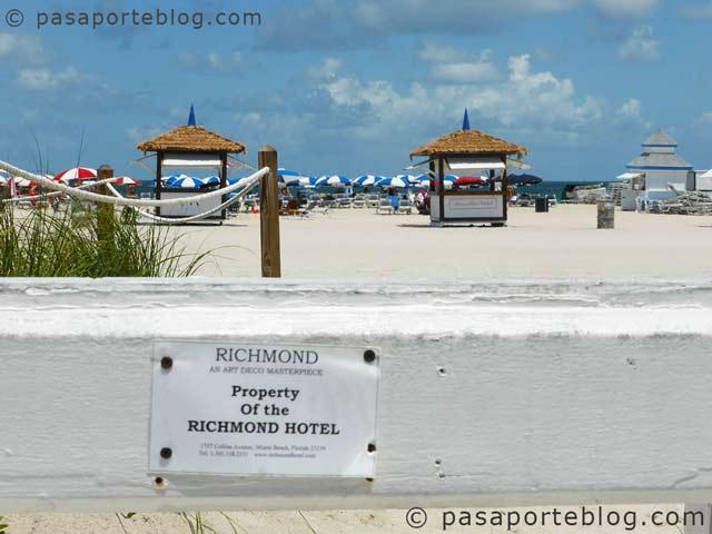 acceso privado rchimond hotel