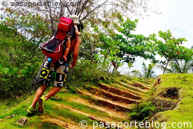 trekking en republica dominicana mochilero