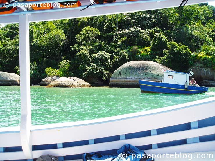navegar por las costas atlanticas de brasil en partati paratii