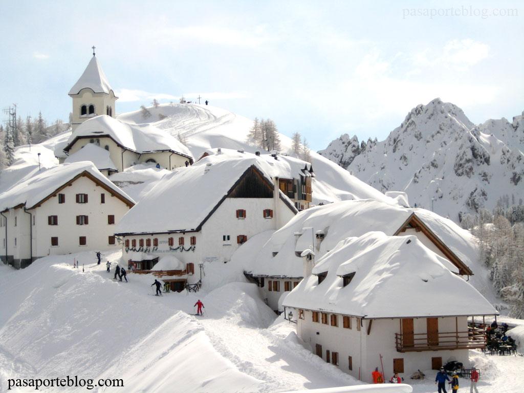 tarvisio esquiar en los alpes italianos