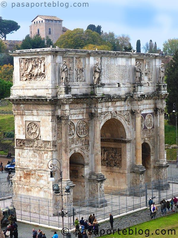 arco de constantino blog de viajes viaje a roma