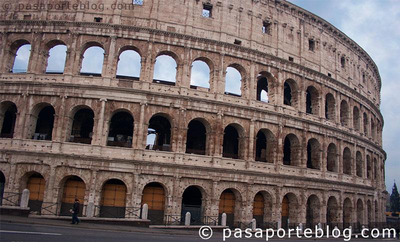 el coliseo de roma, roma en 3 dias