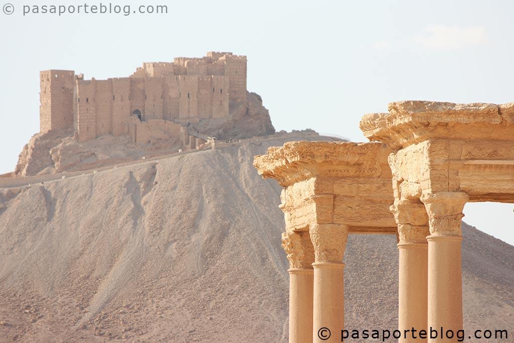 blog de viajes pasaporteblog palmira siria