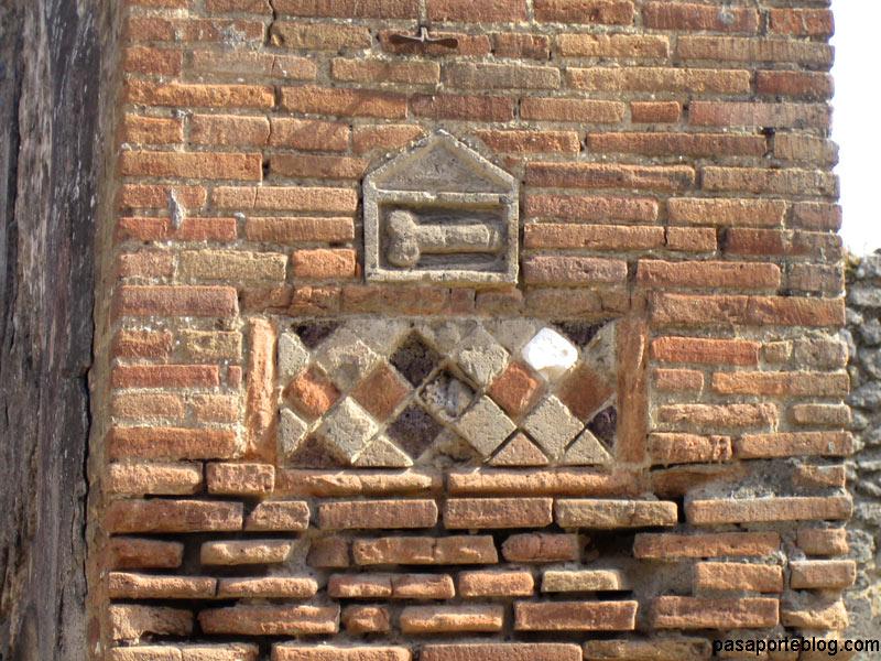 pompeya señales de trafico antiguas