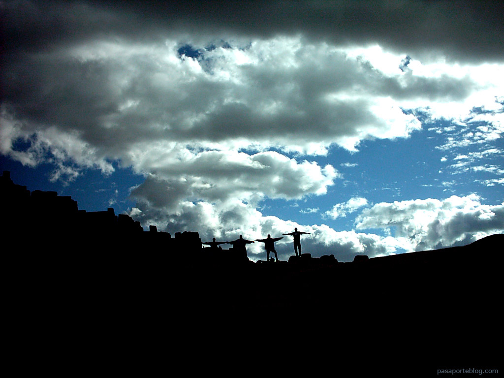 Sacsayhuaman ruinas incas en Cuzco, viaje a Perú
