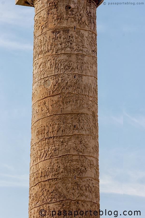 columna de trajano roma en 3 dias