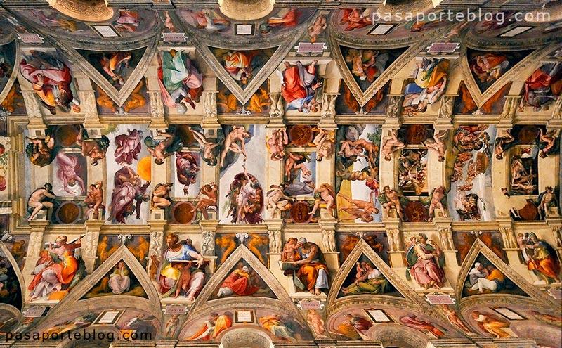 la capilla sixtina fotografia vaticano