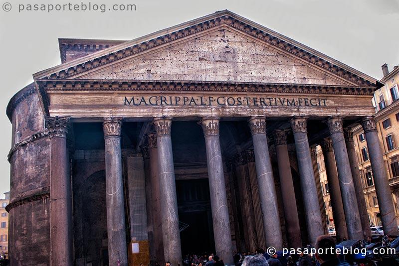 panteon pantheon roma clásica viaje a roma