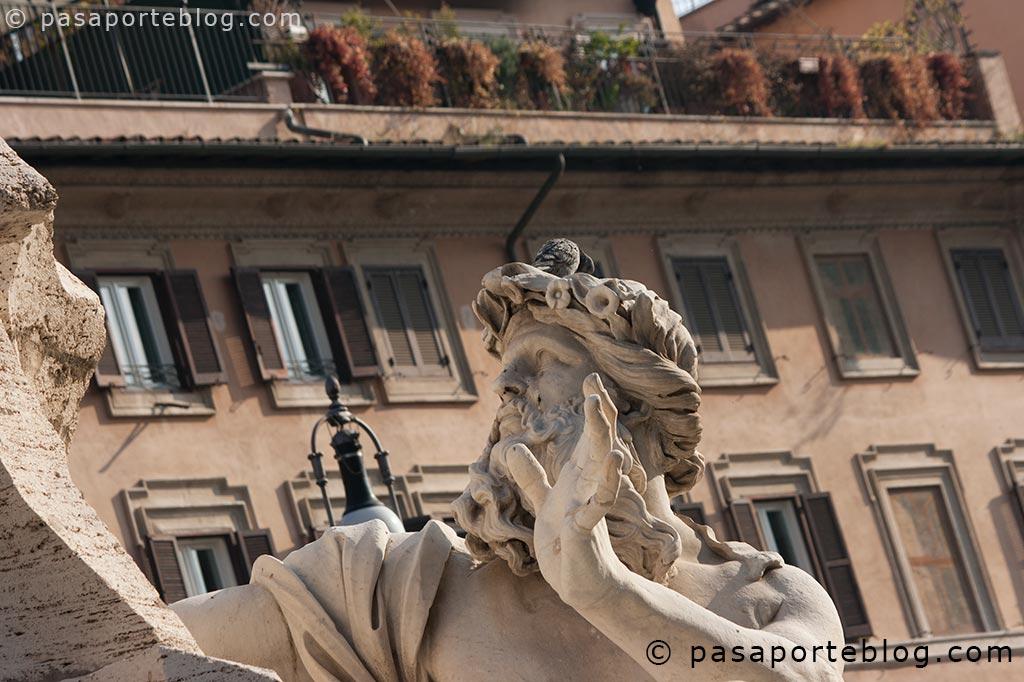 piazza navona o plaza navona viaje a roma