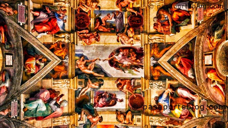 que ver en roma en 3 días, la capilla sixtina