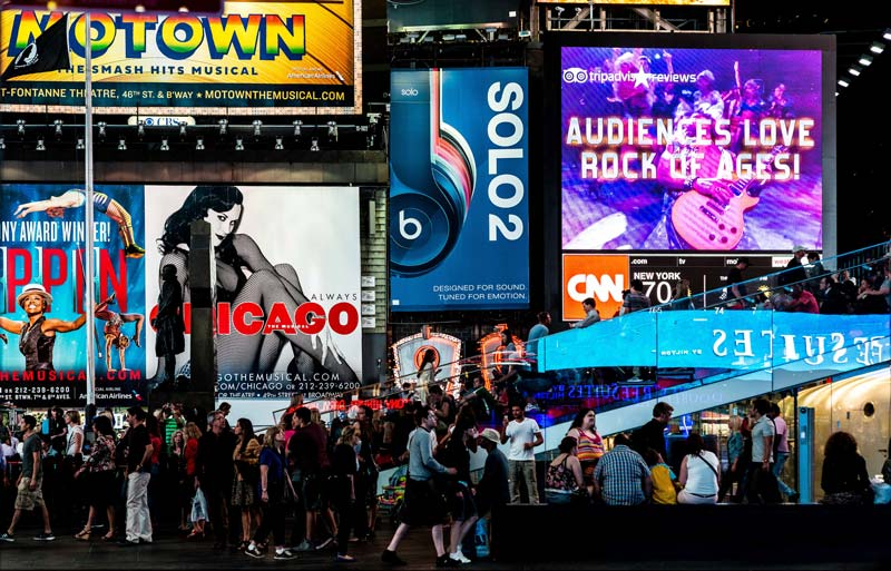 turismo en nueva york broadway times square