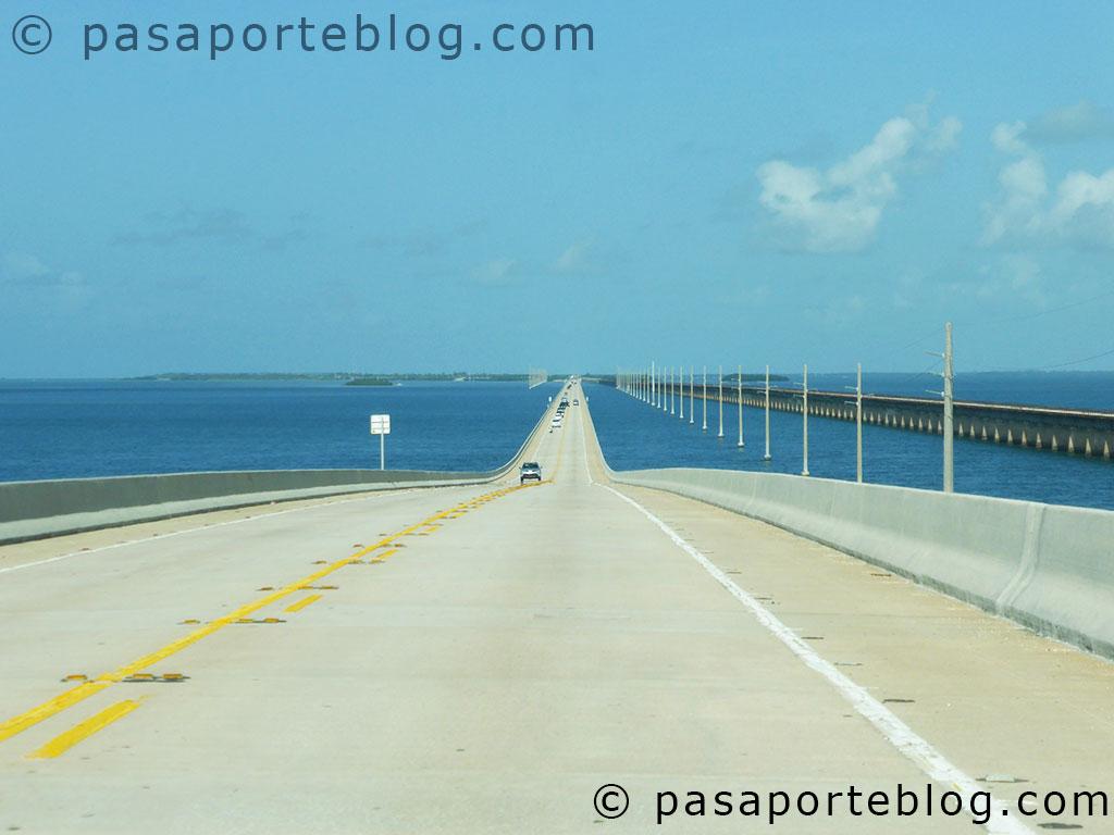carretera cayos de florida, el puente de las siete millas