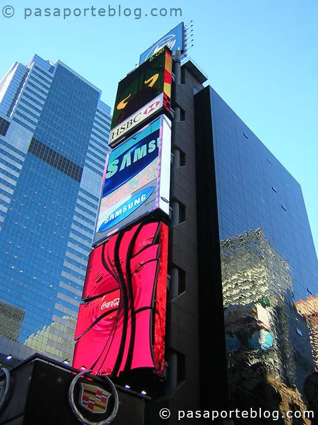 times square viaje a nueva york blog