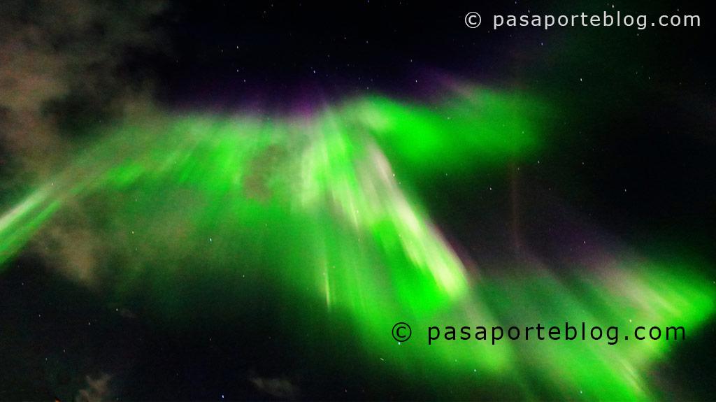 Aurora Boreal en Islandia, blog de viajes
