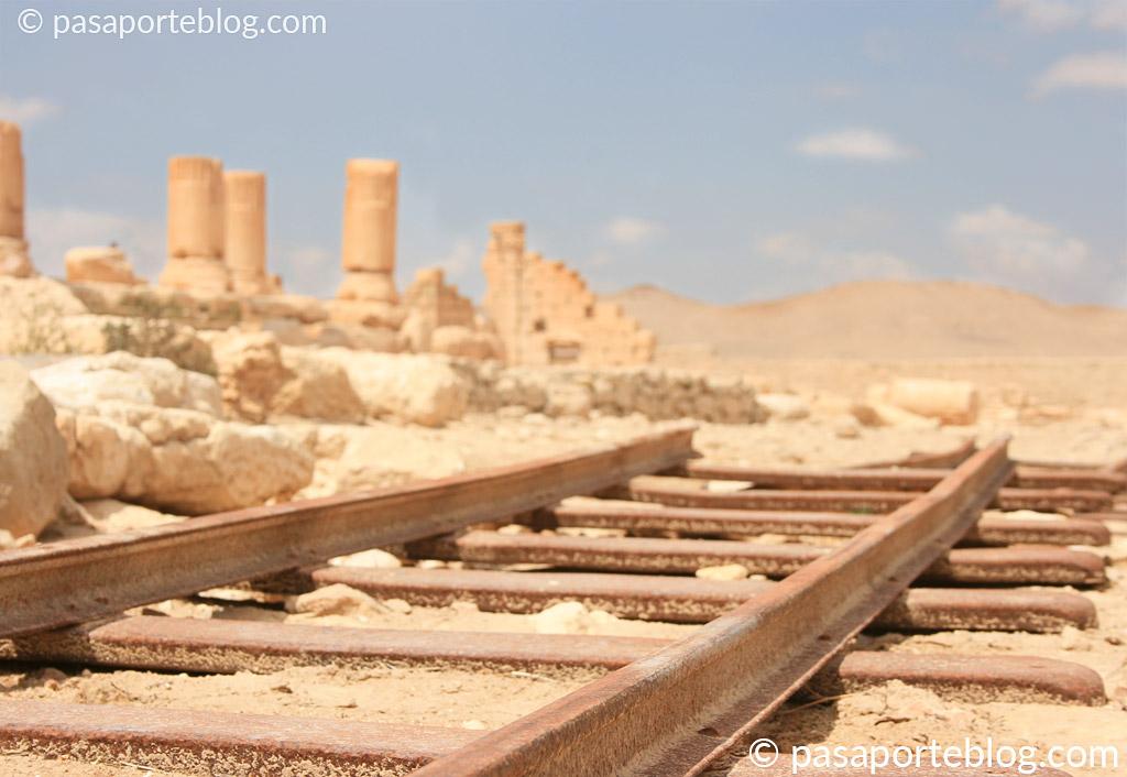 arqueologia en la ciudad de palmira siria