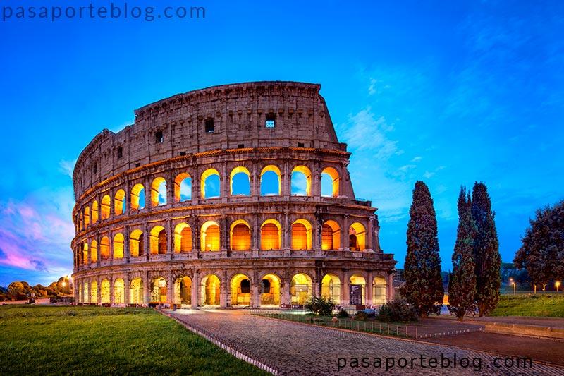 el coliseo de roma la roma imperial la eneida