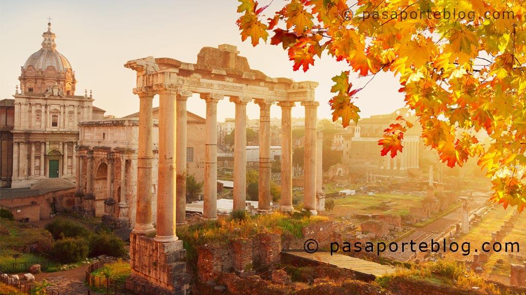 la eneida origen de roma viaje a roma