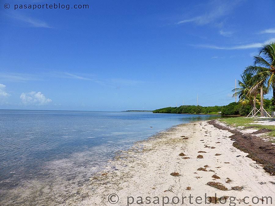 playas desconocidas en las cayos de florida