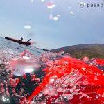 Seabob bucear junto al volcán activo de Stromboli, viaje a Sicilia