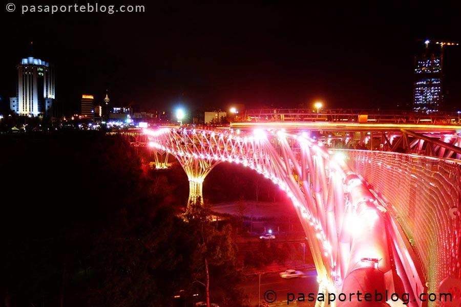 puente Tabiat, turismo en teheran