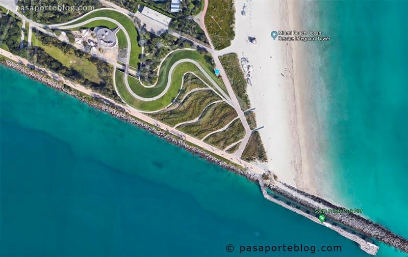 el punto mas al sur de miami beach