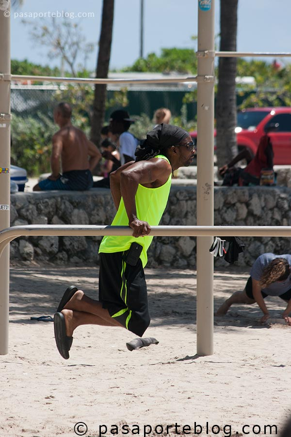 deporte y running en miami south beach