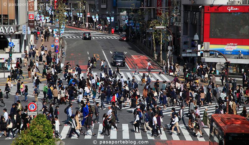 crossing shibuya viaje a japon tokio