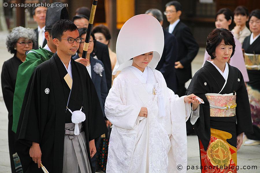boda sintoista viaje a japon que ver en tokio