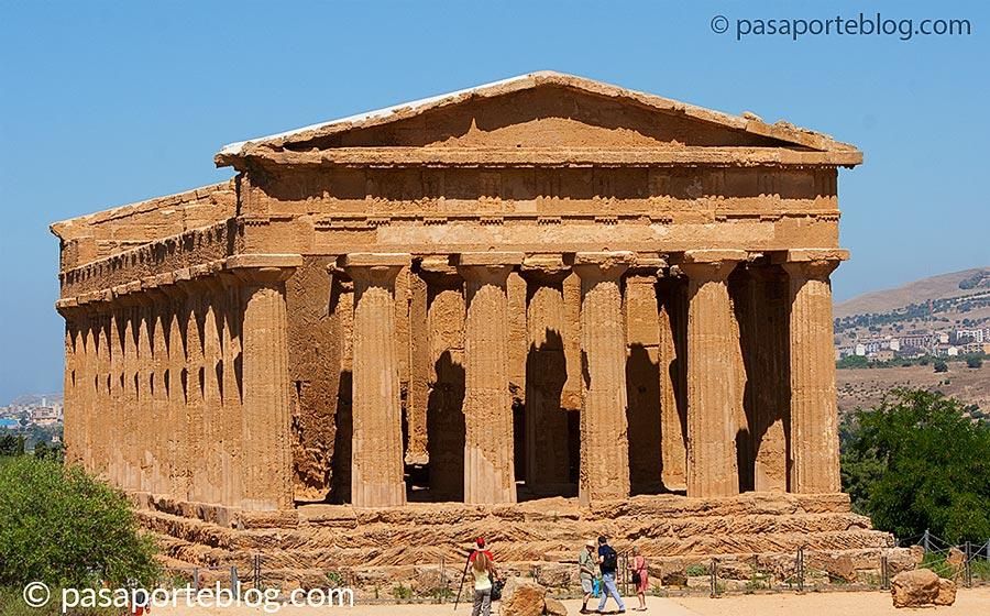 agrigento valle de los templos viaje a sicilia