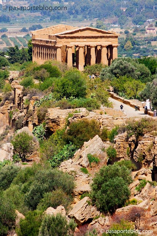 Viaje a Sicilia que ver Agrigento