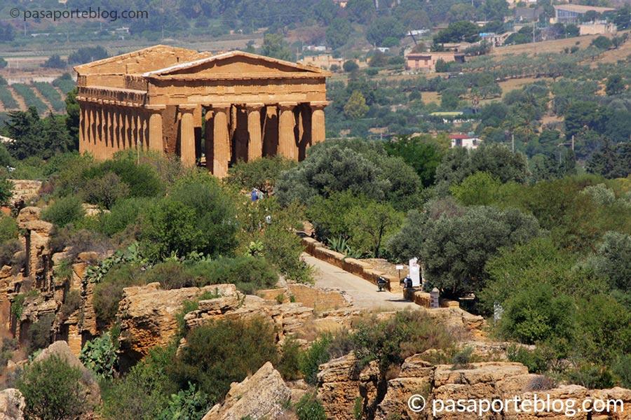 Agrigento y el valle de los templos