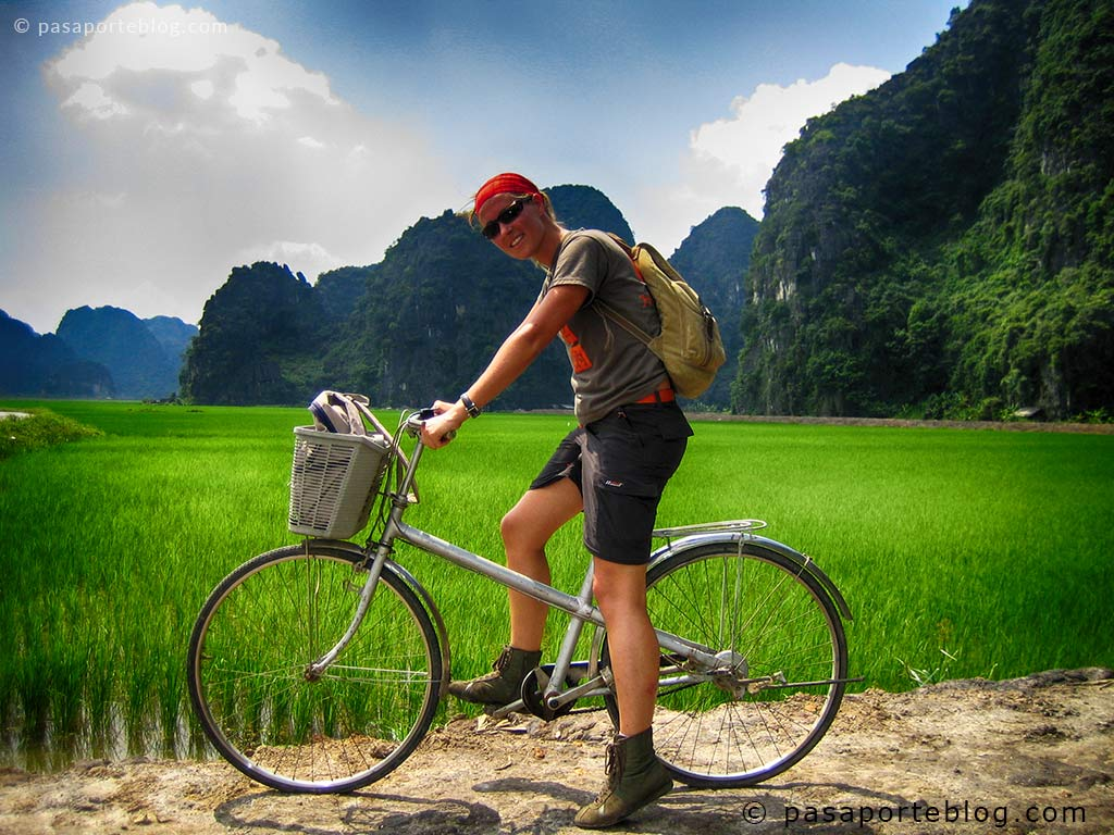 alquilar bicicletas en el viaje a vietnam