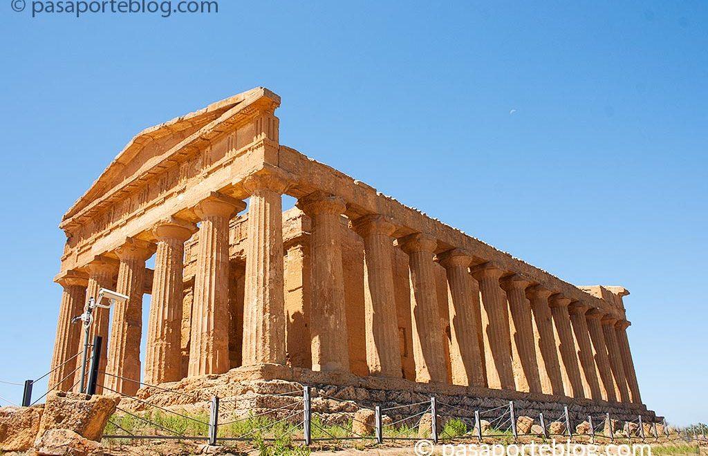 agrigento y valle de los templos viaje a Sicilia