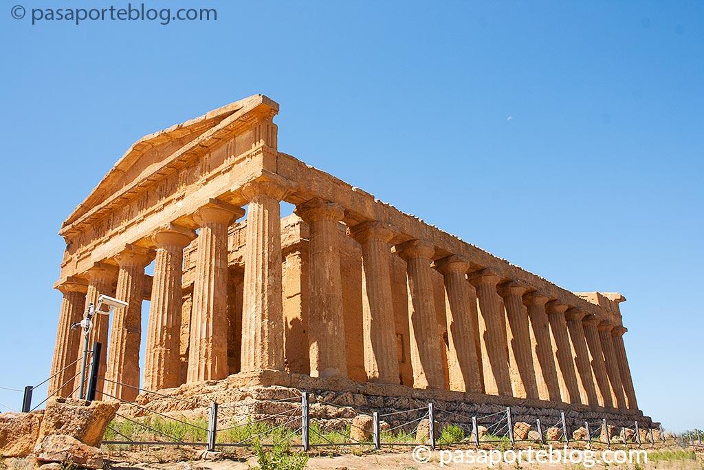 Templo de la Concordia valle de los Templos que ver en Sicilia